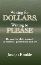 Writing for Dollars, Writing to Please book jacket