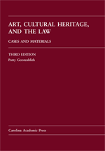 Art, Cultural Heritage, and the Law book jacket