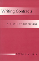 Writing Contracts book jacket