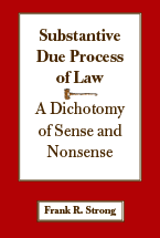 Substantive Due Process of Law book jacket