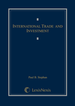 International Trade and Investment book jacket