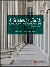 A Student's Guide to Accounting for Lawyers book jacket