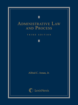 Administrative Law and Process book jacket