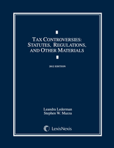 Tax Controversies Document Supplement book jacket