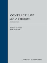 Contract Law and Theory book jacket