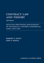 Contract Law and Theory Document Supplement book jacket