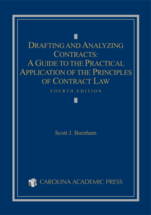 Drafting and Analyzing Contracts book jacket