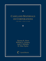 Cases and Materials on Corporations book jacket
