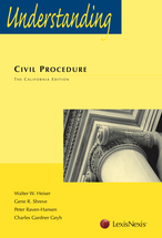 Understanding Civil Procedure book jacket