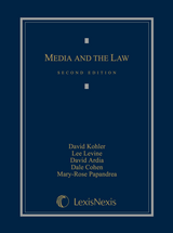 Media and the Law book jacket