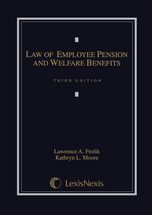 Law of Employee Pension and Welfare Benefits book jacket