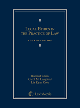 Legal Ethics in the Practice of Law book jacket