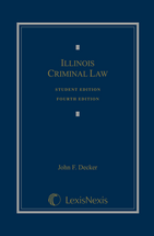 Illinois Criminal Law Student Edition book jacket