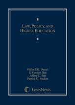 Law, Policy, and Higher Education book jacket