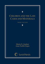 Children and the Law book jacket