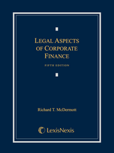 Legal Aspects of Corporate Finance book jacket