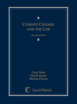 Climate Change and the Law book jacket