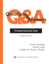 Questions & Answers: Constitutional Law book jacket