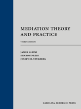 Mediation Theory and Practice book jacket