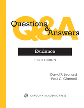 Questions & Answers: Evidence book jacket