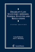 Disability Law Document Supplement book jacket
