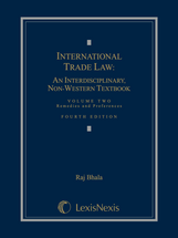 International Trade Law, Volume 2: Remedies and Preferences book jacket