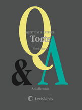 Questions & Answers: Torts book jacket