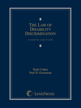 The Law of Disability Discrimination book jacket