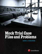 Mock Trial Case Files and Problems book jacket