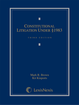 Constitutional Litigation Under Section 1983 book jacket