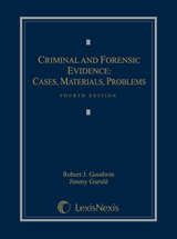 Criminal and Forensic Evidence book jacket