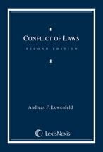 Conflict of Laws Document Supplement book jacket