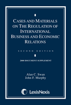 Cases and Materials on the Regulation of International Business and Economic Relations Document Supplement book jacket