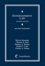 Entertainment Law Document Supplement book jacket