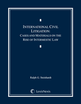 International Civil Litigation book jacket