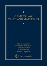 Gaming Law Cases & Materials book jacket