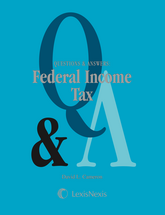 Questions & Answers: Federal Income Tax book jacket