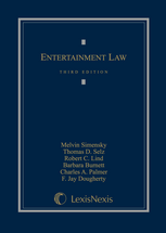 Entertainment Law book jacket