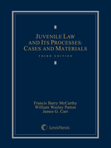 Juvenile Law and Its Processes book jacket