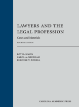 Lawyers and the Legal Profession book jacket