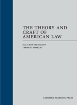 The Theory and Craft of American Law book jacket