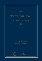 Water Pollution book jacket