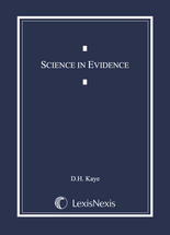 Science in Evidence book jacket