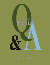 Questions & Answers: Patent Law book jacket