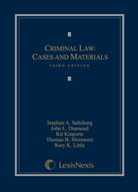 Criminal Law book jacket