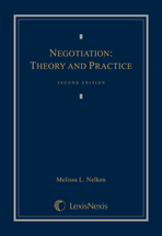Negotiation book jacket