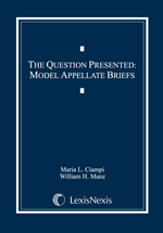The Question Presented book jacket