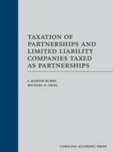 Taxation of Partnerships and Limited Liability Companies Taxed as Partnerships book jacket