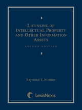 Licensing of Intellectual Property and Other Information Assets book jacket