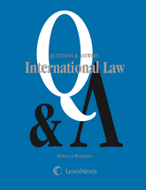 Questions & Answers: International Law book jacket